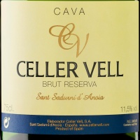 We Introduce the new Celler Vell Brut Reserva